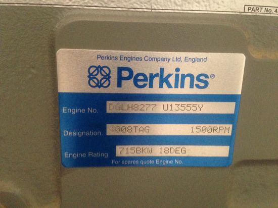 perkins,發電機